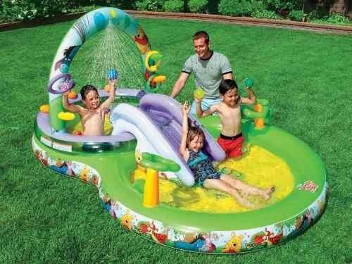Piscina inflavel infantil playground intex disney 291 for Piscina infantil