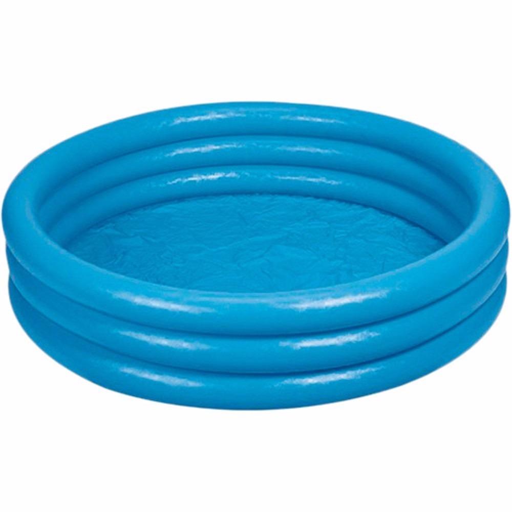 piscina inflavel intex 500 litros azul redonda r ForPiscina 500 Litros