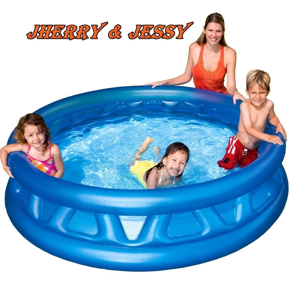 Piscina infl vel intex redonda familiar infantil 666lts for Alberca intex redonda