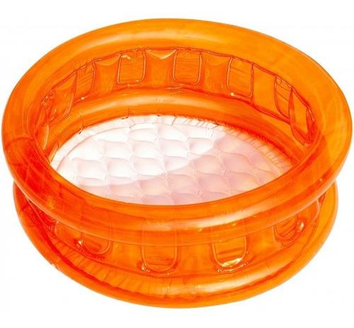 piscina inflável kids piso puff 26 litros belfix cores