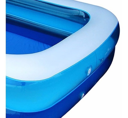 piscina inflavel nautika summer 1200 litros c/ pvc reforçado