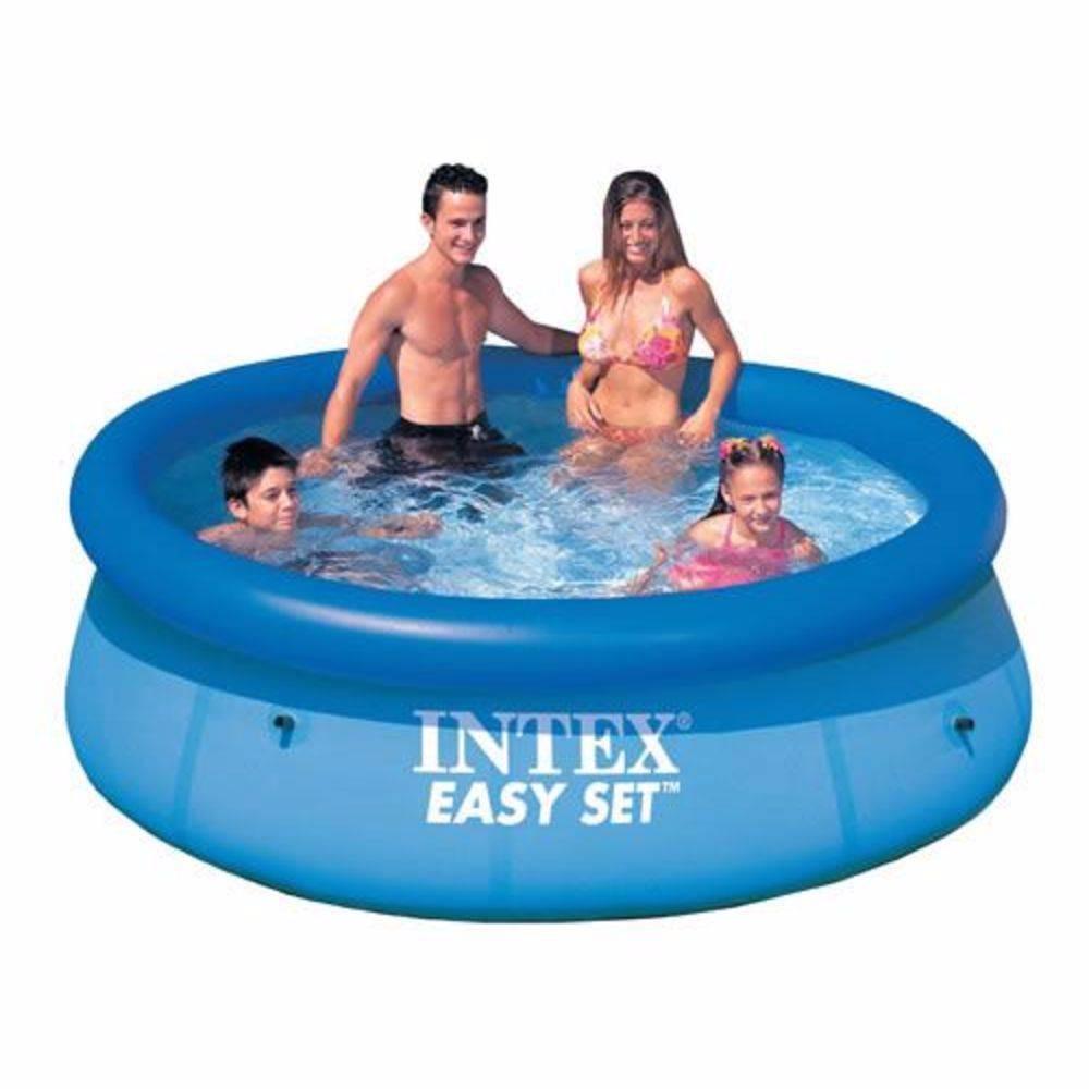 10ef7c7fd4d67 piscina inflável redonda easy set 2.419l intex + brinde. Carregando zoom.