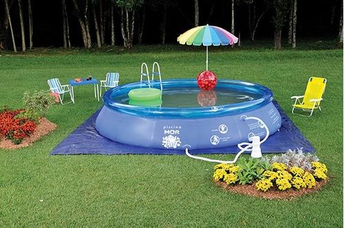 Piscina inflavel redonda splash fun 6700 litros mor r for Piscina 6500 litros redonda