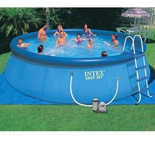 piscina inflável redondo intex 14.141 l completa 110v intex
