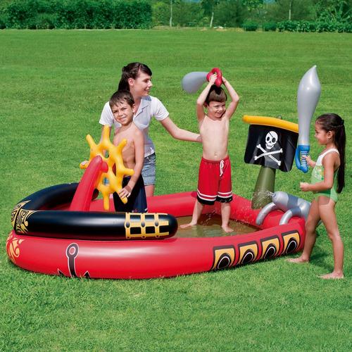 piscina interactiva pirata 190cm - bestway
