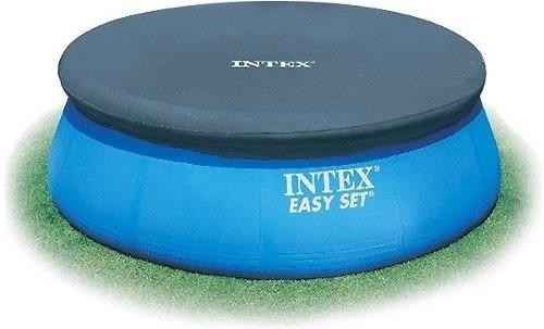 piscina intex 3853 litros inflável + bomba filtrante capa q1