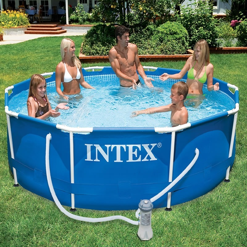 Piscina intex 4500lts x bomba y filtro 4 for Filtros bombas accesorios piscinas intex