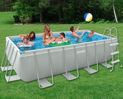 Piscina intex 6836 litros com capa escada bomba filtro for Filtro piscina intex