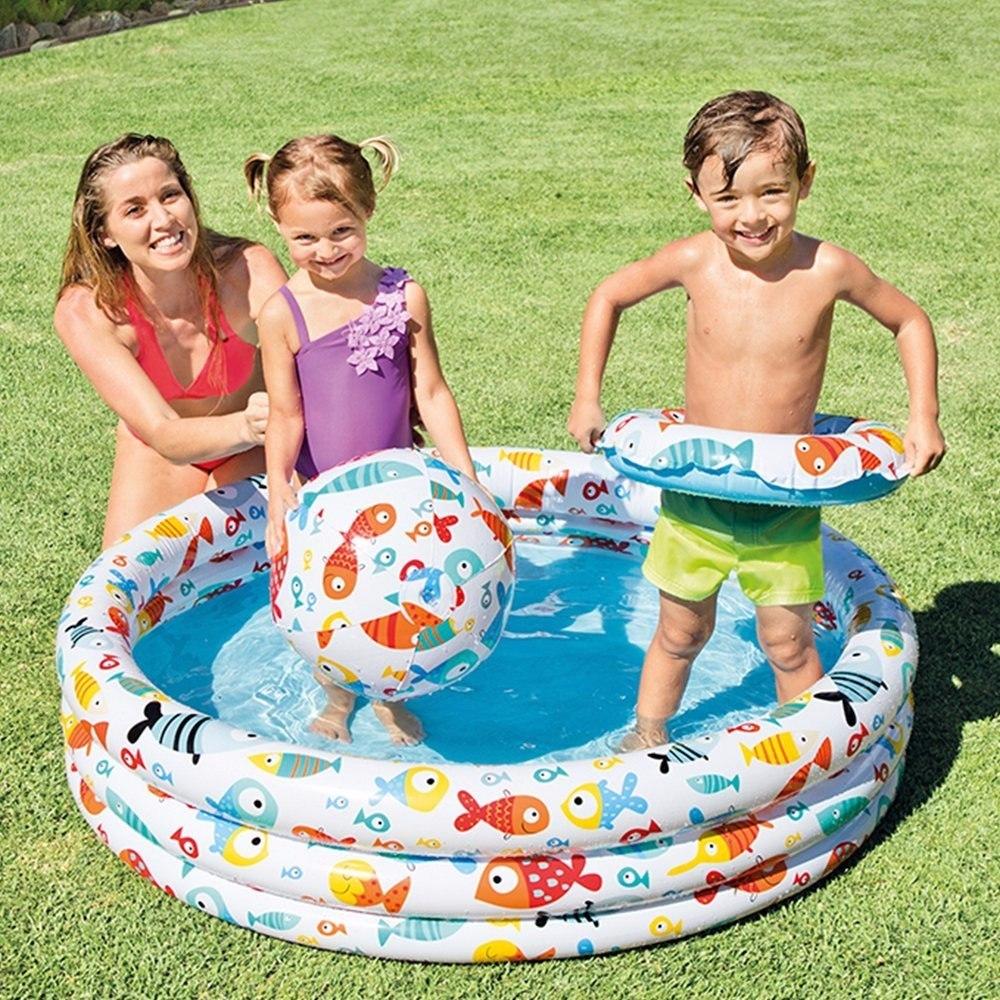 Piscina intex bebe set con accesorios infantil mod 59469 for Intex piscinas accesorios