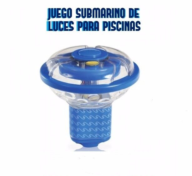Piscina juego submarino de luces 3567 para piscinas bs for Luces para piscinas