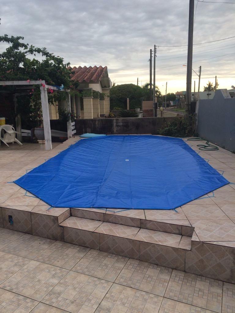 Capa de piscina lona 300 micra prote o 15 00 m r 15 for Lona termica piscina