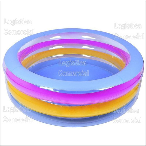 piscina mediana inflable anillos bestway 196x53cm 51029
