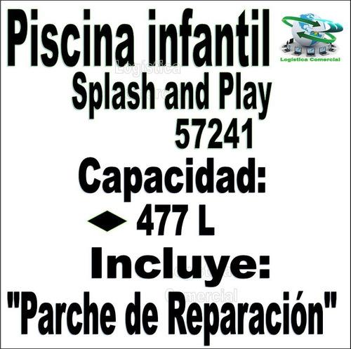 piscina mediana inflable bestway splash play 152x38cm 57241