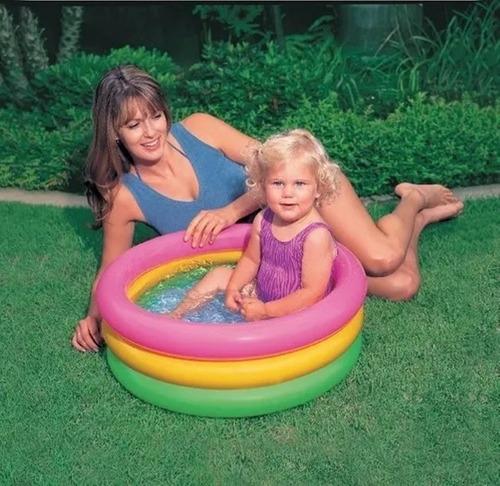 piscina mini inflable intex niños 61cm x 22cm