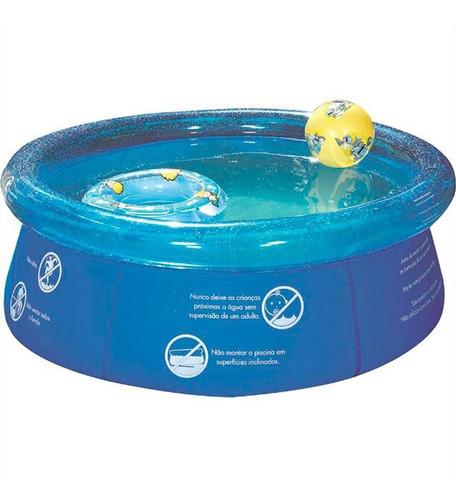 piscina mor 1000 litros inflável 1048