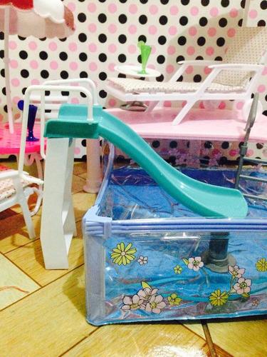 piscina nueva para barbie