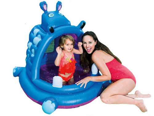 piscina para bebe hipopotamo bestway (6634)