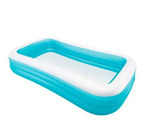 piscina para niños bebes inflables intex 305x183x56 cm, cap