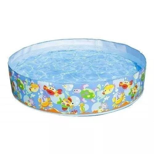 piscina para niños rigida intex 1.52 x 25 cms