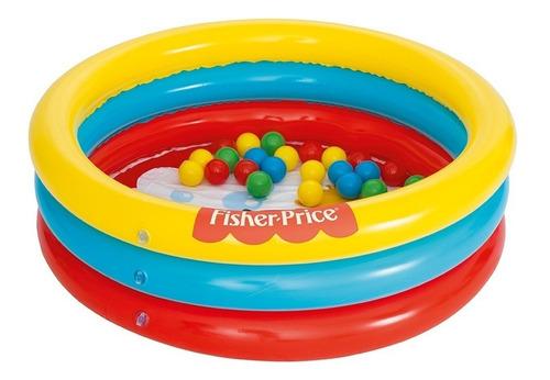 piscina pelotero con pelotas fisher price  niños -