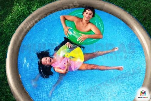 piscina pequeña armable rápida barata oferta inflable2.44x66