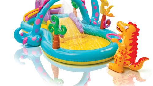 piscina playground mundo encantado dos dinossauros 290 lt !