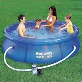 piscina portatil con bomba de recirculacion
