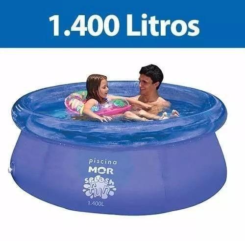 Piscina redonda litros inflavel splash fun mor r for Piscina 8000 litros redonda