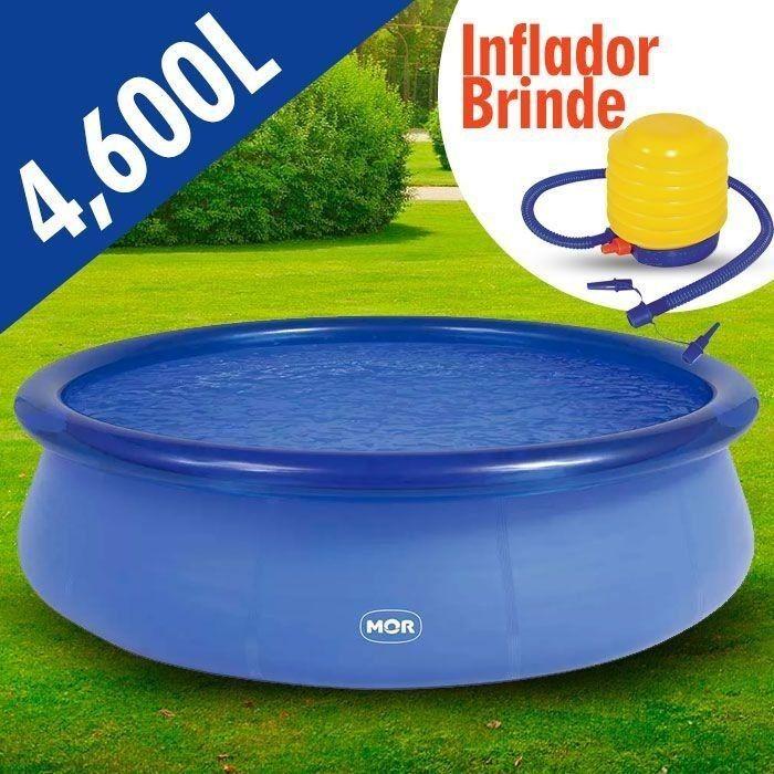 Piscina redonda litros inflavel splash fun for Lona piscina redonda