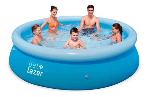 piscina redonda inflável 4600 litros 3 metros x 76 cm belfix