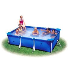 piscina retangular 2000 litros válvula deságue mor montar