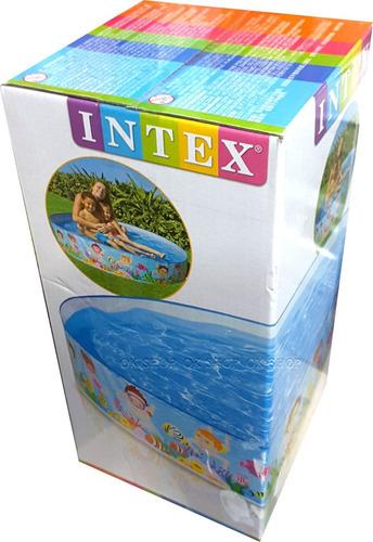 piscina rígida intex 152cm mediana original ¡ envio gratis !