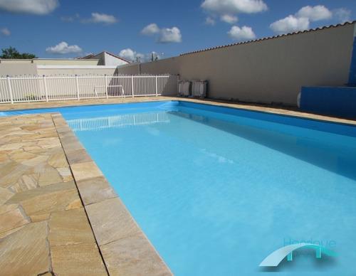 piscina - sobrado lado linha,  2 dormitórios, para temporada - ca00418 - 33674782