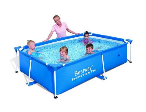 piscina splash frame pool 2.39m x 1.50m x 58cm, 56402