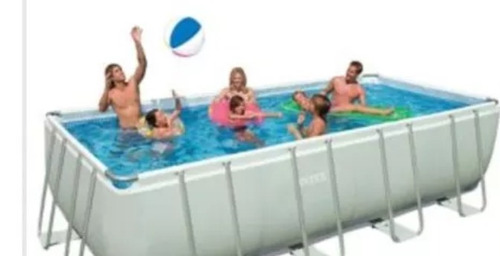 piscina ultra frame pool intex 732x366x132