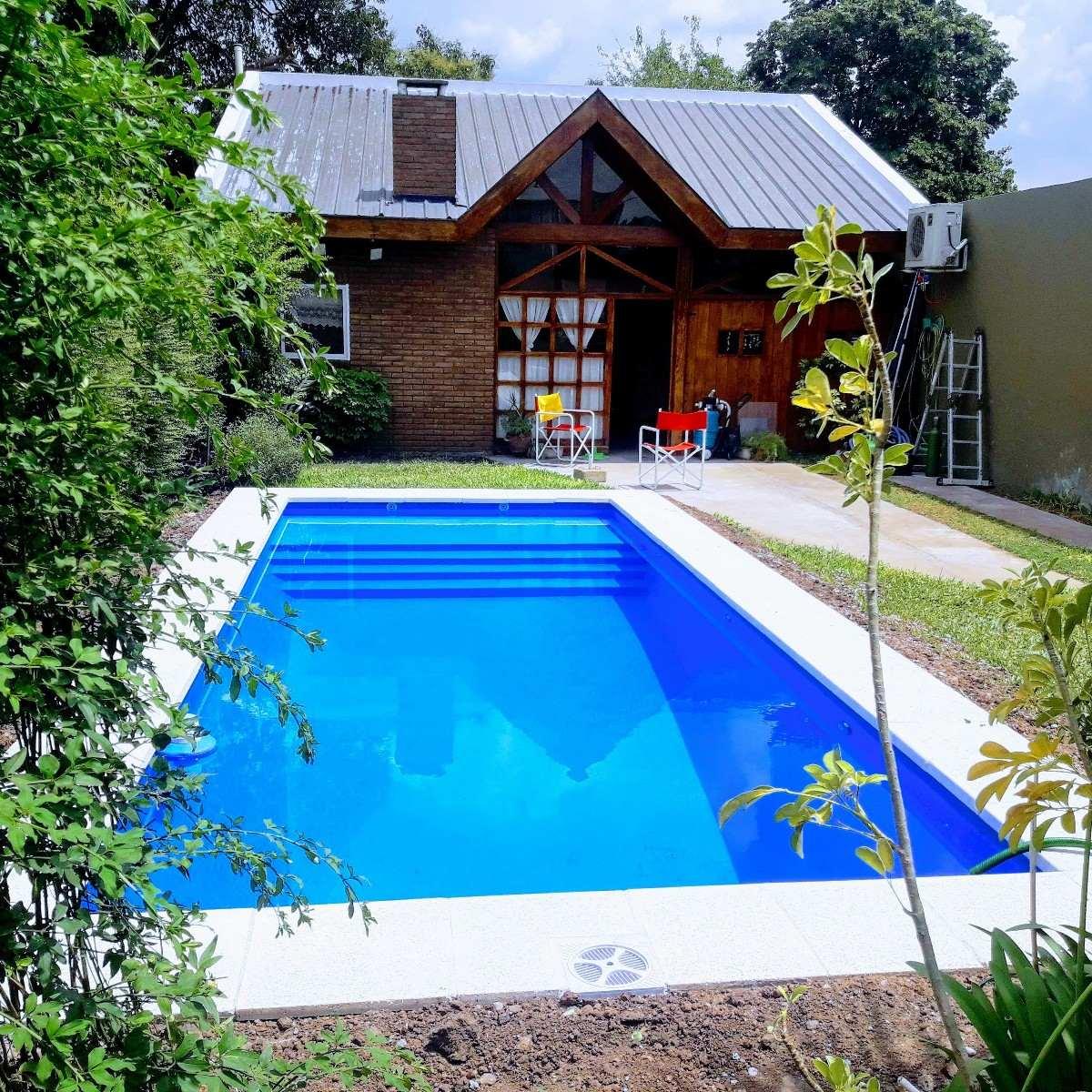 Piscinas 8x4 hormig n bluepoint en mercado libre for Constructores de piscinas