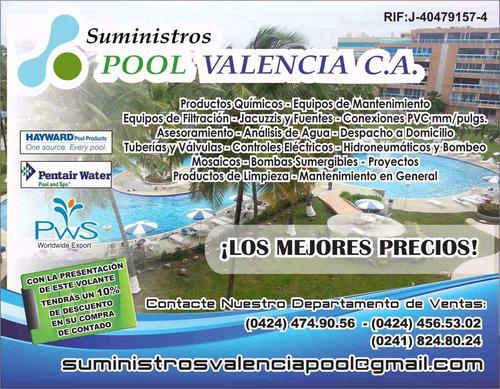 piscinas, accesorios y mantenimiento