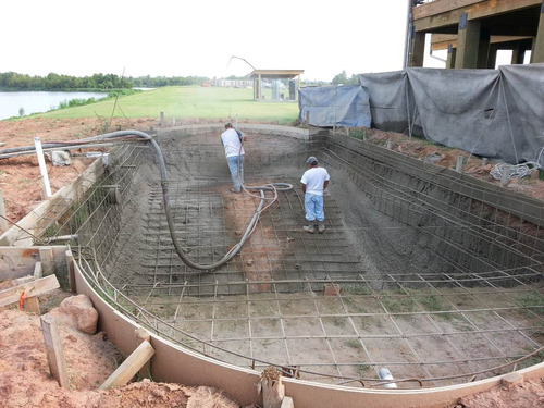 piscinas construidas en hormigon proyectado
