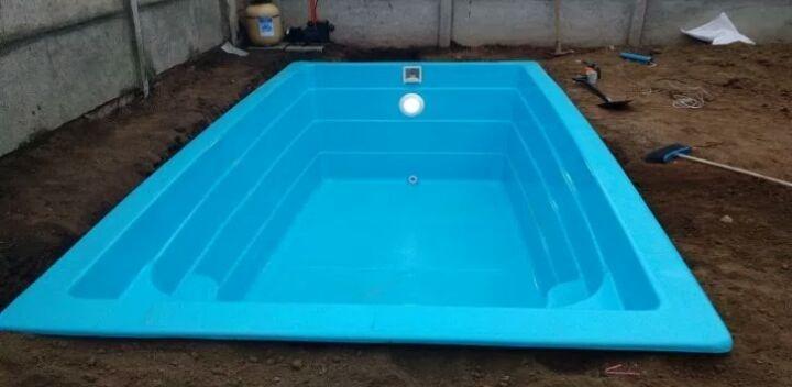 Piscinas de fibra de vidrio 300 en mercado libre for Cuanto vale una piscina de fibra de vidrio