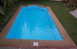 piscinas de fibra de vidrio modelo samoa rectangular - Piscinas De Fibra De Vidrio