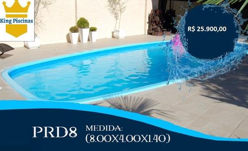 piscinas de fibra instalada