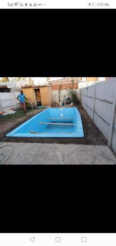 piscinas de fibra y de hormigón