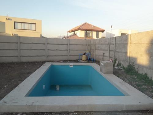 piscinas de fibra y hormigon