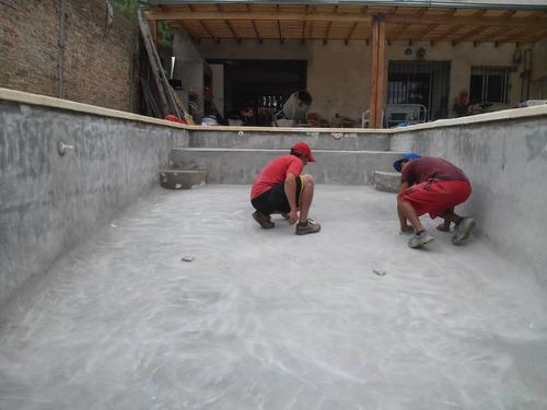 piscinas de hormigon  $139.000ºº completa