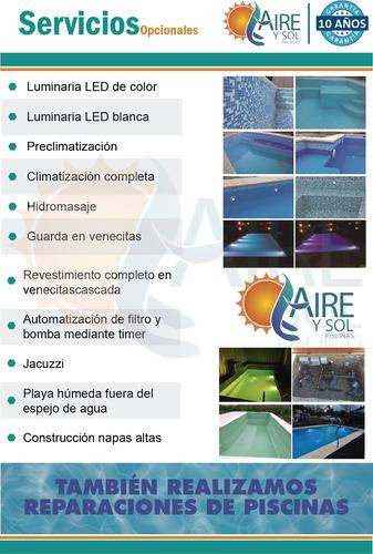 piscinas de hormigon 7x3 $180.000 lista y funcionando!!!!!!