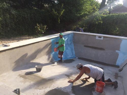 piscinas de hormigón armado