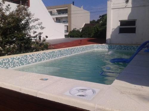piscinas de hormigón en terrazas / arq martin arevalo