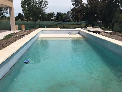 piscinas de hormigón proyectado gunitado
