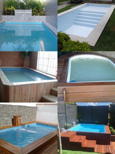 piscinas en fibra de vidrio reforzada