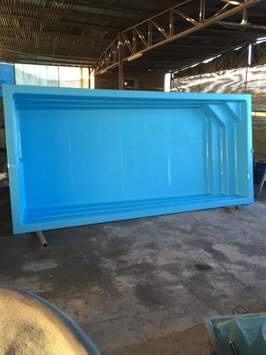 piscinas fibra de vidrio (7 modelos)